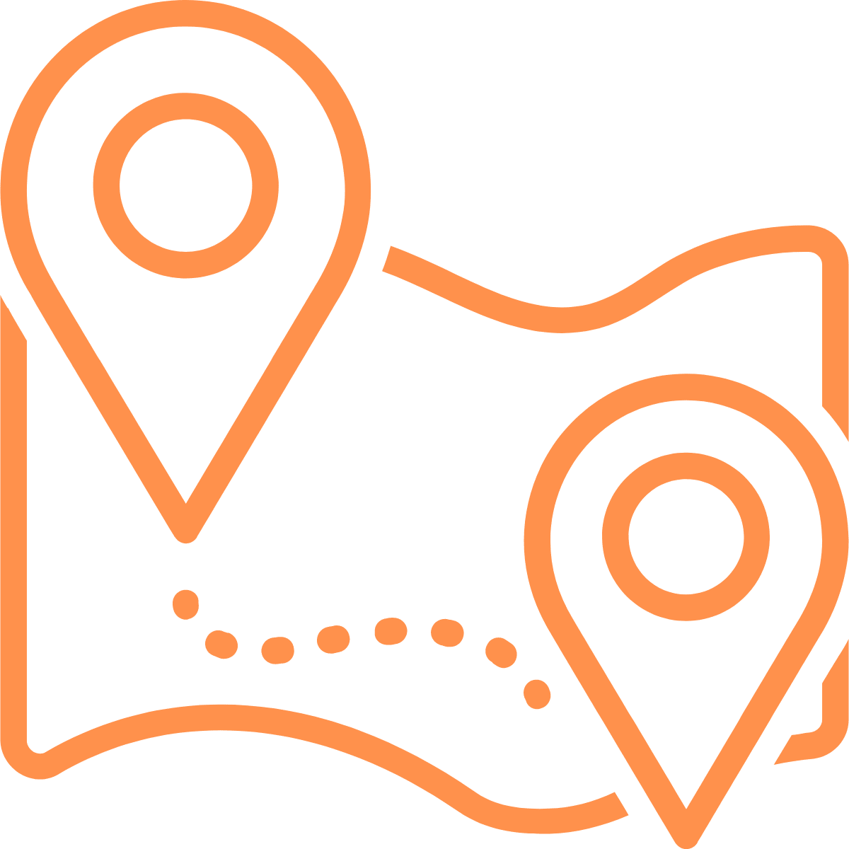 Icon für Dienstleistungen in Regionen