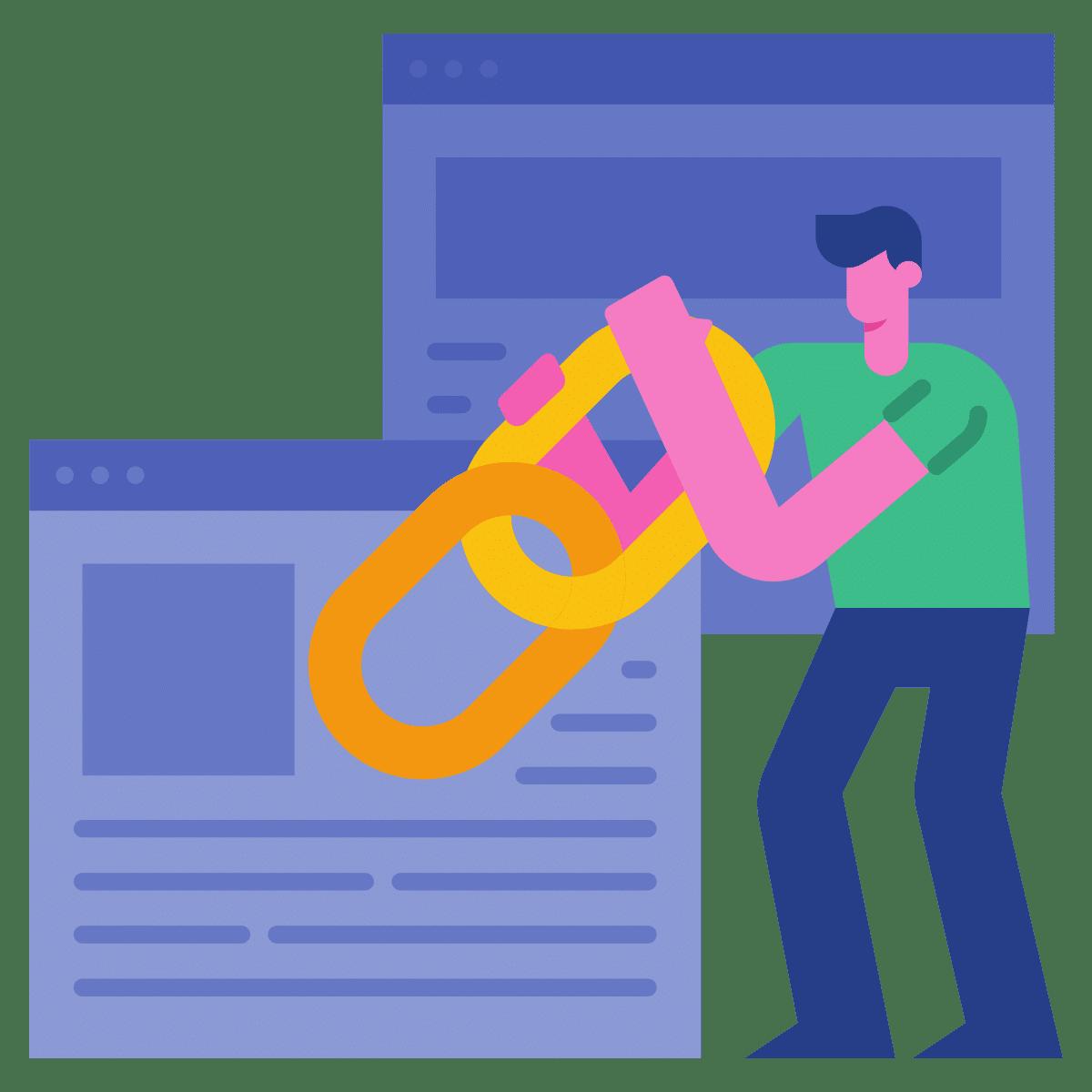 Icon local Links generieren