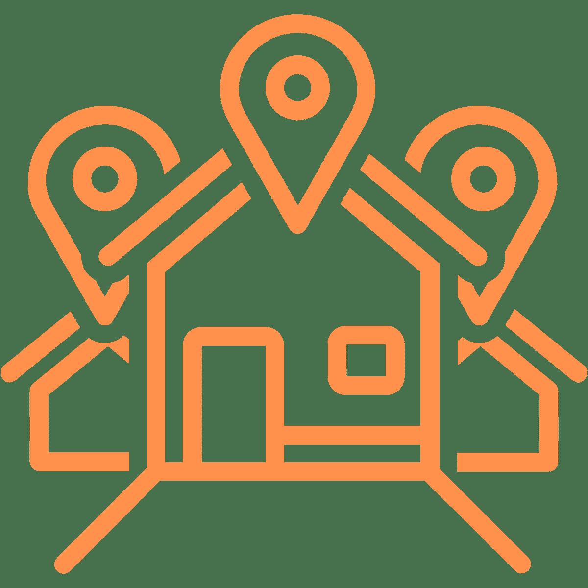 Icon für mehrere Standorte