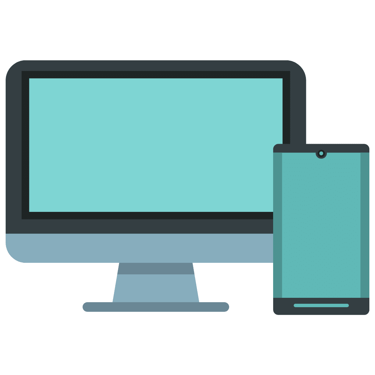 Icon für Mobil und Desktop - Display
