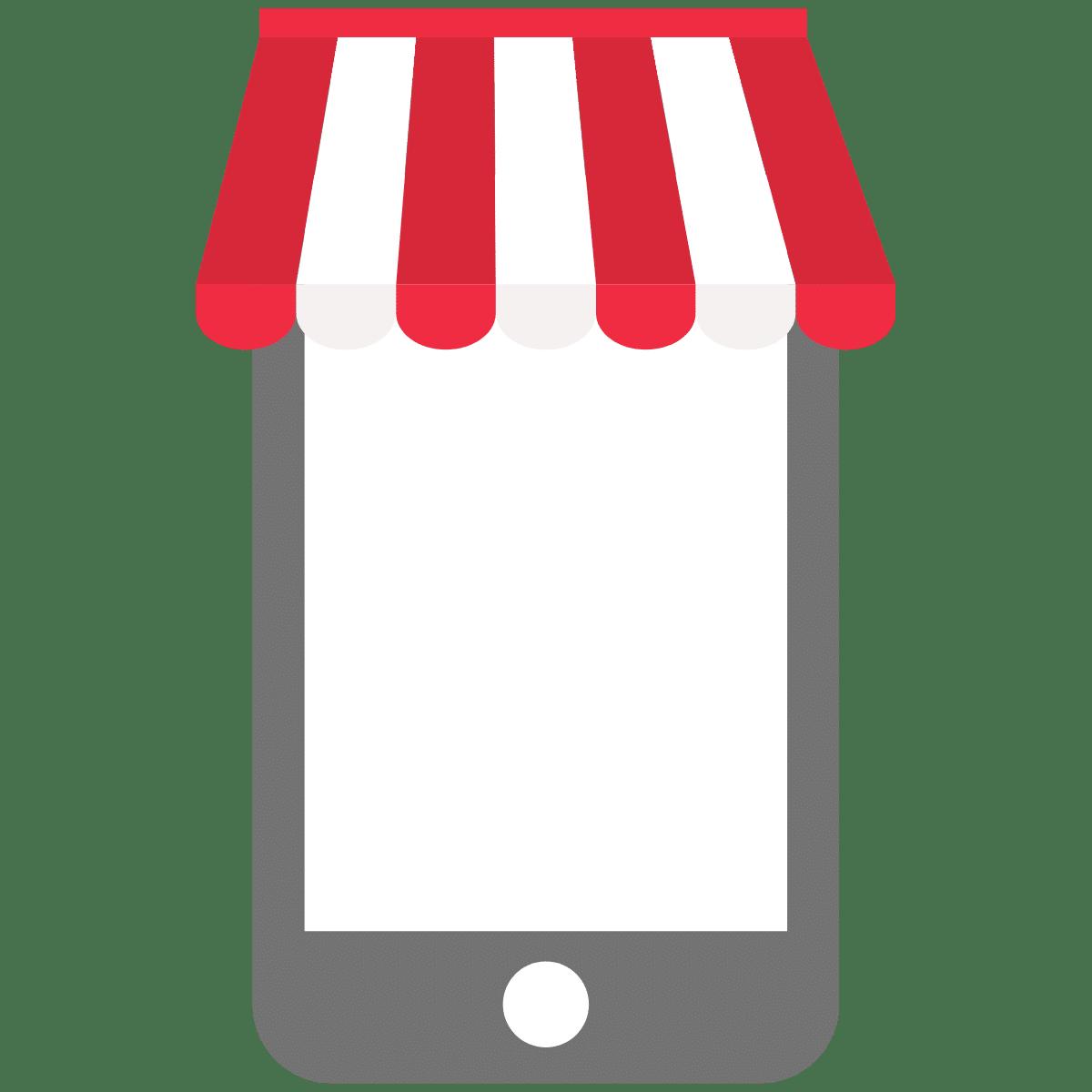 Icon mobile Optimierung Lokale- Unternehmen